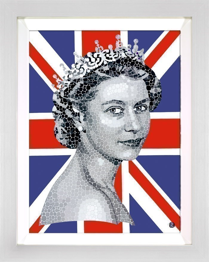 Happy and Glorious by Paul Normansell - Limited Edition on Paper sized 19x26 inches. Available from Whitewall Galleries